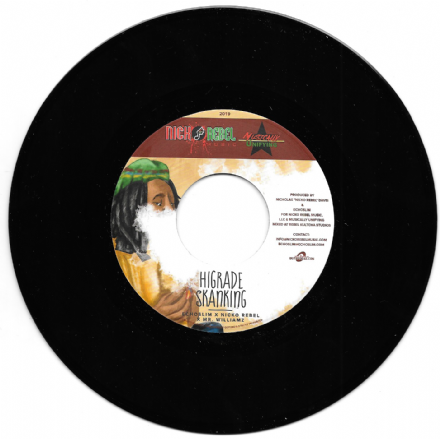Mr. Williamz - Higrade Skanking / Nadine Sutherland - Dance Africa (Rebel Music / Buy Reggae) 7""